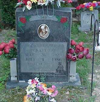 CRAFT, C.C. - Scioto County, Ohio   C.C. CRAFT - Ohio Gravestone Photos