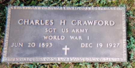 CRAWFORD, CHARLES H. - Scioto County, Ohio | CHARLES H. CRAWFORD - Ohio Gravestone Photos