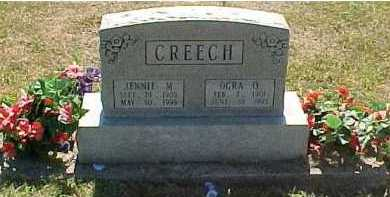 CREECH, JENNIE M. - Scioto County, Ohio | JENNIE M. CREECH - Ohio Gravestone Photos