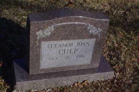 CULP, ELEANOR JOAN - Scioto County, Ohio   ELEANOR JOAN CULP - Ohio Gravestone Photos