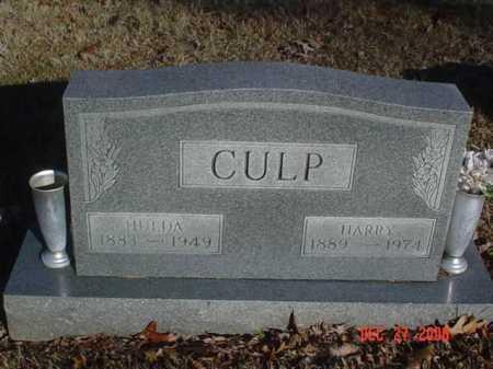 CULP, HULDA - Scioto County, Ohio   HULDA CULP - Ohio Gravestone Photos