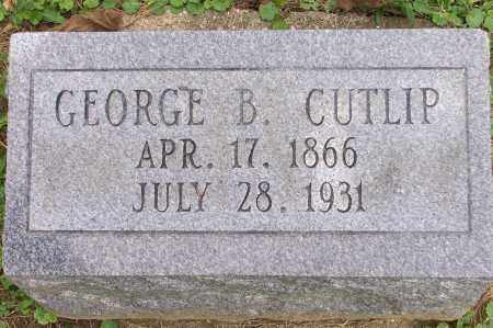 CUTLIP, GEORGE B. - Scioto County, Ohio | GEORGE B. CUTLIP - Ohio Gravestone Photos
