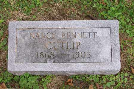 BENNETT CUTLIP, NANCY - Scioto County, Ohio   NANCY BENNETT CUTLIP - Ohio Gravestone Photos