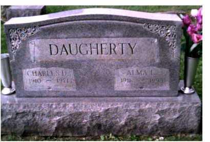 DAUGHERTY, CHARLES D. - Scioto County, Ohio | CHARLES D. DAUGHERTY - Ohio Gravestone Photos