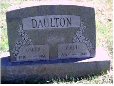 DAULTON, OSCAR - Scioto County, Ohio | OSCAR DAULTON - Ohio Gravestone Photos