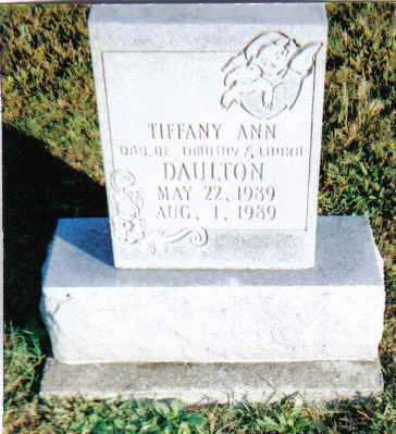 DAULTON, TIFFANY ANN - Scioto County, Ohio | TIFFANY ANN DAULTON - Ohio Gravestone Photos