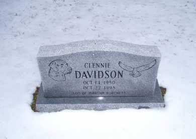 DAVIDSON, CLENNIE - Scioto County, Ohio | CLENNIE DAVIDSON - Ohio Gravestone Photos