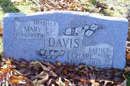 DAVIS, CHARLES A. - Scioto County, Ohio   CHARLES A. DAVIS - Ohio Gravestone Photos