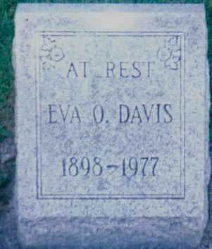 DAVIS, EVA O. - Scioto County, Ohio | EVA O. DAVIS - Ohio Gravestone Photos