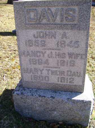 DAVIS, NANCY J. - Scioto County, Ohio | NANCY J. DAVIS - Ohio Gravestone Photos
