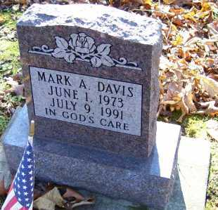 DAVIS, MARK A. - Scioto County, Ohio | MARK A. DAVIS - Ohio Gravestone Photos