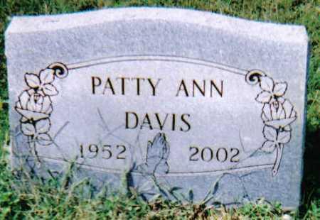 DAVIS, PATTY ANN - Scioto County, Ohio | PATTY ANN DAVIS - Ohio Gravestone Photos