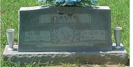 DAVIS, MARY V. - Scioto County, Ohio | MARY V. DAVIS - Ohio Gravestone Photos