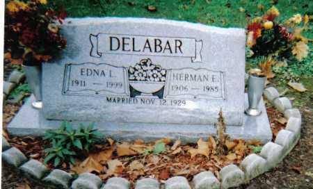 DELABAR, EDNA L. - Scioto County, Ohio | EDNA L. DELABAR - Ohio Gravestone Photos