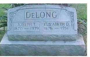 DELONG, JOSEPH T. - Scioto County, Ohio | JOSEPH T. DELONG - Ohio Gravestone Photos