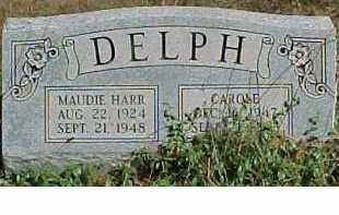 DELPH, MAUDIE - Scioto County, Ohio | MAUDIE DELPH - Ohio Gravestone Photos