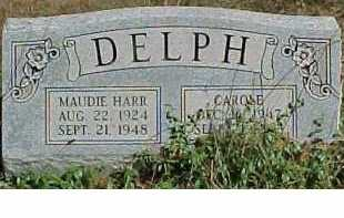 DELPH, MAUDIE - Scioto County, Ohio | MAUDIE DELPH - Ohio Gravestone Photos