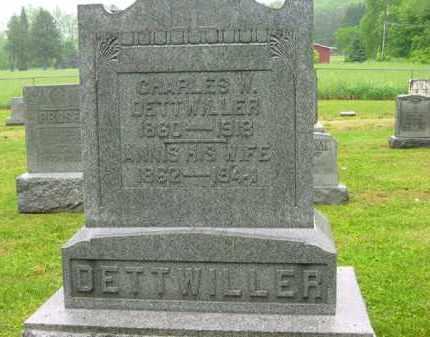 DETTWILLER, CHARLES W. - Scioto County, Ohio | CHARLES W. DETTWILLER - Ohio Gravestone Photos