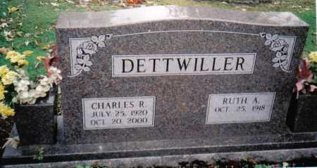 DETTWILLER, RUTH A. - Scioto County, Ohio | RUTH A. DETTWILLER - Ohio Gravestone Photos