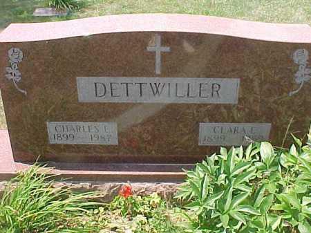 DETTWILLER, CLARA E. - Scioto County, Ohio   CLARA E. DETTWILLER - Ohio Gravestone Photos
