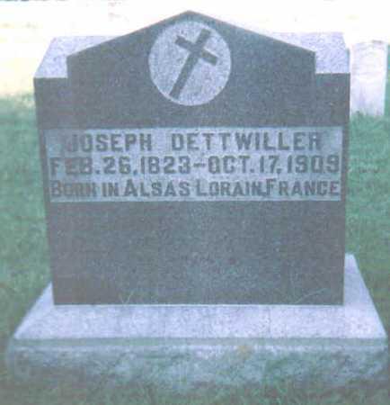DETTWILLER, JOSEPH - Scioto County, Ohio | JOSEPH DETTWILLER - Ohio Gravestone Photos