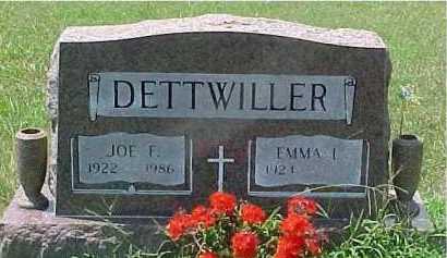 DETTWILLER, EMMA - Scioto County, Ohio | EMMA DETTWILLER - Ohio Gravestone Photos