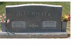 CRABTREE DETTWILLER, ELIZABETH - Scioto County, Ohio | ELIZABETH CRABTREE DETTWILLER - Ohio Gravestone Photos