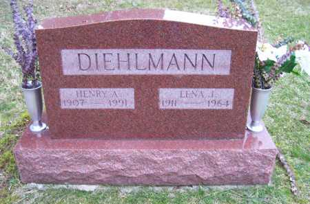 DIEHLMAN, HENRY A. - Scioto County, Ohio | HENRY A. DIEHLMAN - Ohio Gravestone Photos