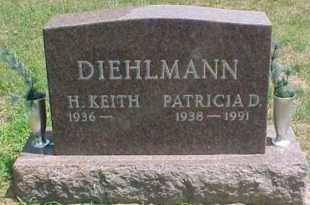 DIEHLMANN, PATRICIA D. - Scioto County, Ohio | PATRICIA D. DIEHLMANN - Ohio Gravestone Photos