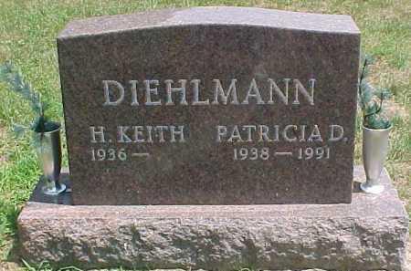 DIEHLMANN, H. KEITH - Scioto County, Ohio | H. KEITH DIEHLMANN - Ohio Gravestone Photos