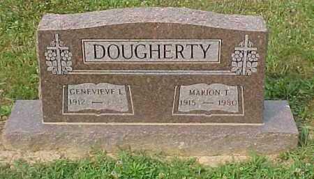 DOUGHERTY, MARION T. - Scioto County, Ohio | MARION T. DOUGHERTY - Ohio Gravestone Photos