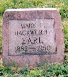 HACKWORTH EARL, MARY C. - Scioto County, Ohio | MARY C. HACKWORTH EARL - Ohio Gravestone Photos