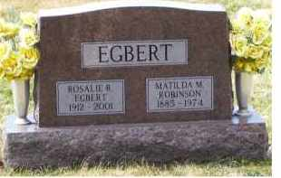 EGBERT, ROSALIE R. - Scioto County, Ohio | ROSALIE R. EGBERT - Ohio Gravestone Photos