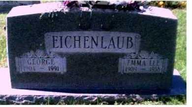 EICHENLAUB, GEORGE - Scioto County, Ohio | GEORGE EICHENLAUB - Ohio Gravestone Photos