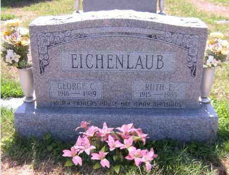 EICHENLAUB, RUTH E - Scioto County, Ohio | RUTH E EICHENLAUB - Ohio Gravestone Photos