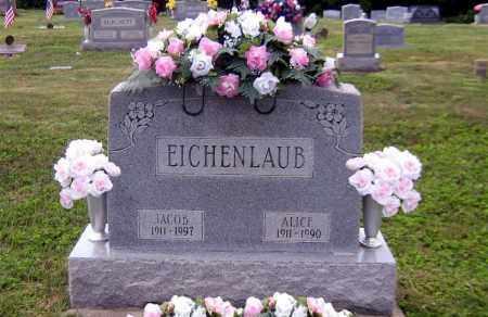 EICHENLAUB, JACOB ALLEN - Scioto County, Ohio   JACOB ALLEN EICHENLAUB - Ohio Gravestone Photos