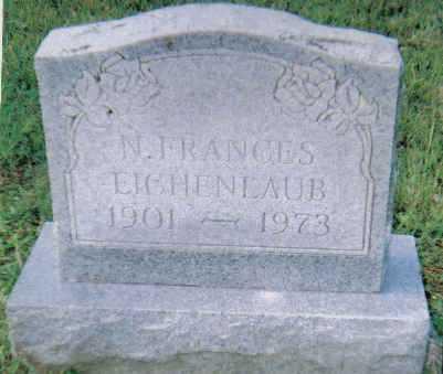 EICHENLAUB, N. FRANCES - Scioto County, Ohio | N. FRANCES EICHENLAUB - Ohio Gravestone Photos