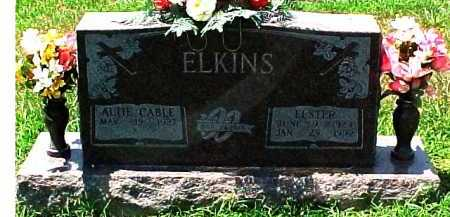 CABLE ELKINS, ALTIE - Scioto County, Ohio | ALTIE CABLE ELKINS - Ohio Gravestone Photos