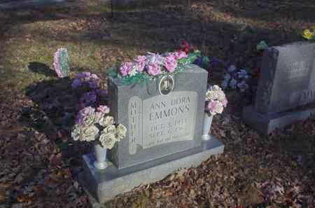 EMMONS, ANN DORA - Scioto County, Ohio | ANN DORA EMMONS - Ohio Gravestone Photos