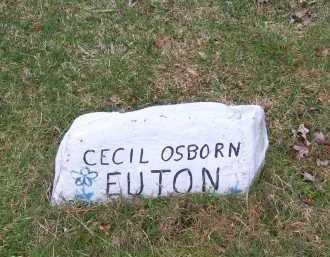 EUTON, CECIL OSBORN - Scioto County, Ohio | CECIL OSBORN EUTON - Ohio Gravestone Photos