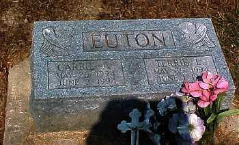 EUTON, CARRIE A. - Scioto County, Ohio | CARRIE A. EUTON - Ohio Gravestone Photos