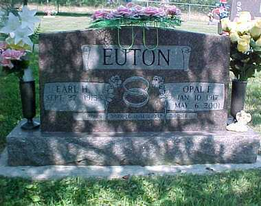 EUTON, OPAL F. - Scioto County, Ohio | OPAL F. EUTON - Ohio Gravestone Photos