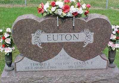 EUTON, GENEVA F. - Scioto County, Ohio | GENEVA F. EUTON - Ohio Gravestone Photos