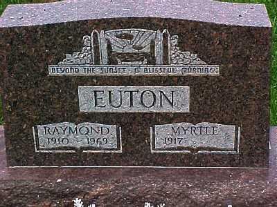 EUTON, MYRTLE - Scioto County, Ohio | MYRTLE EUTON - Ohio Gravestone Photos