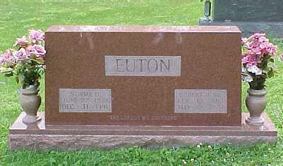 EUTON, NORMA D. - Scioto County, Ohio | NORMA D. EUTON - Ohio Gravestone Photos