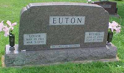 EUTON, LOUISE - Scioto County, Ohio | LOUISE EUTON - Ohio Gravestone Photos