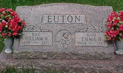 EUTON, WILLIAM A. - Scioto County, Ohio | WILLIAM A. EUTON - Ohio Gravestone Photos