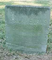 EVANS, EDNA - Scioto County, Ohio   EDNA EVANS - Ohio Gravestone Photos