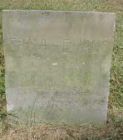 EVANS, ERMA - Scioto County, Ohio | ERMA EVANS - Ohio Gravestone Photos