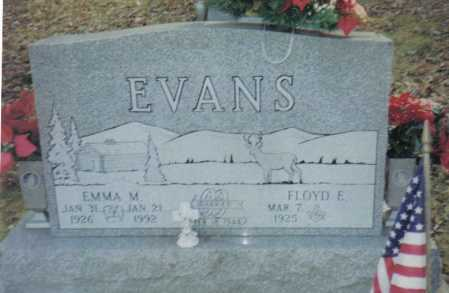 EVANS, FLOYD E. - Scioto County, Ohio | FLOYD E. EVANS - Ohio Gravestone Photos